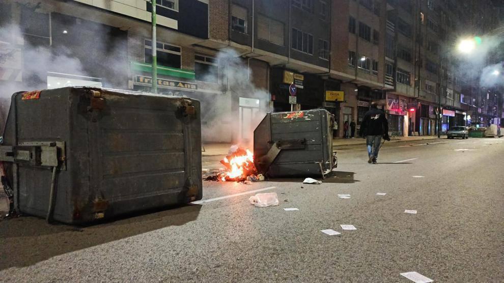 CCD rechaza los disturbios