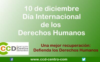 CCD conmemora el Día de los DD.HH.