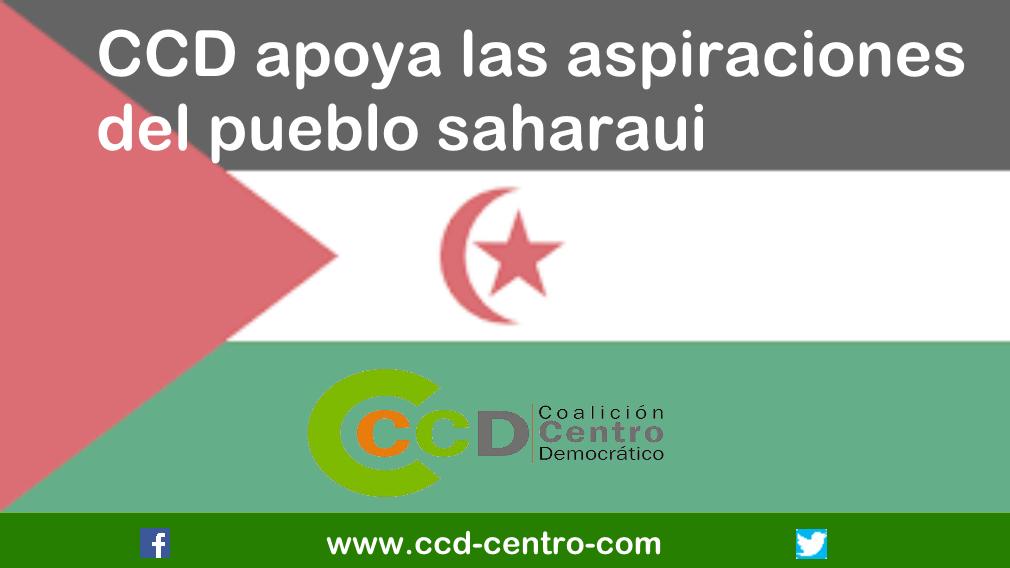 CCD apoya las aspiraciones del pueblo saharaui