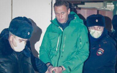CCD condena la detención de Alexéi Navalny