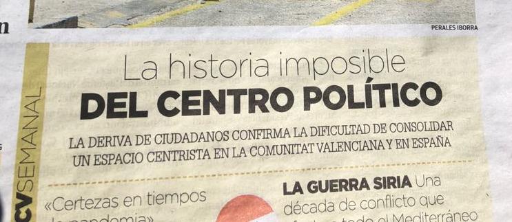 ¡A por el centro! Artículo de opinión de David García Pérez, presidente nacional de Coalición de Centro Democrático